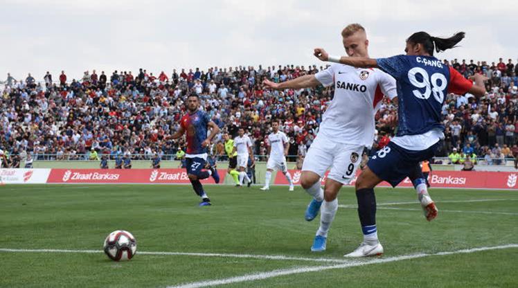 Gazişehir 4 golle turladı