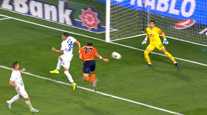 Medipol Başakşehir'in Fransız golcüsü iş başında: 4-0