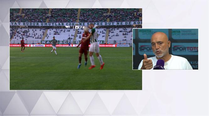 Karaman penaltıyı canlı yayında yorumladı