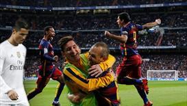 El Clasico'da tarihi bir maç! Barcelona, Real Madrid'i dağıttı! (ÖZET)