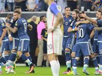 Messi ABD'yi ezdi geçti