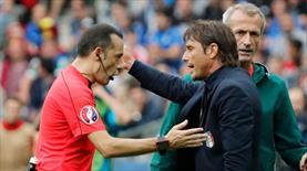 Conte çıldırdı, Çakır olay yerinde!