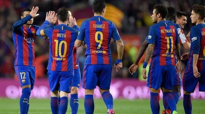 Barça gol oldu yağdı (ÖZET)