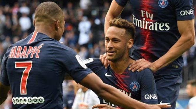 Paris Saint-Germain 4 köşe