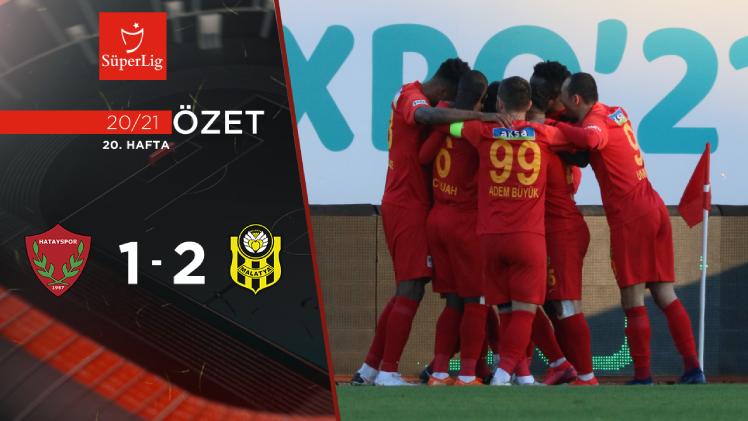 Atakaş Hatayspor Yeni Malatyaspor maç özeti