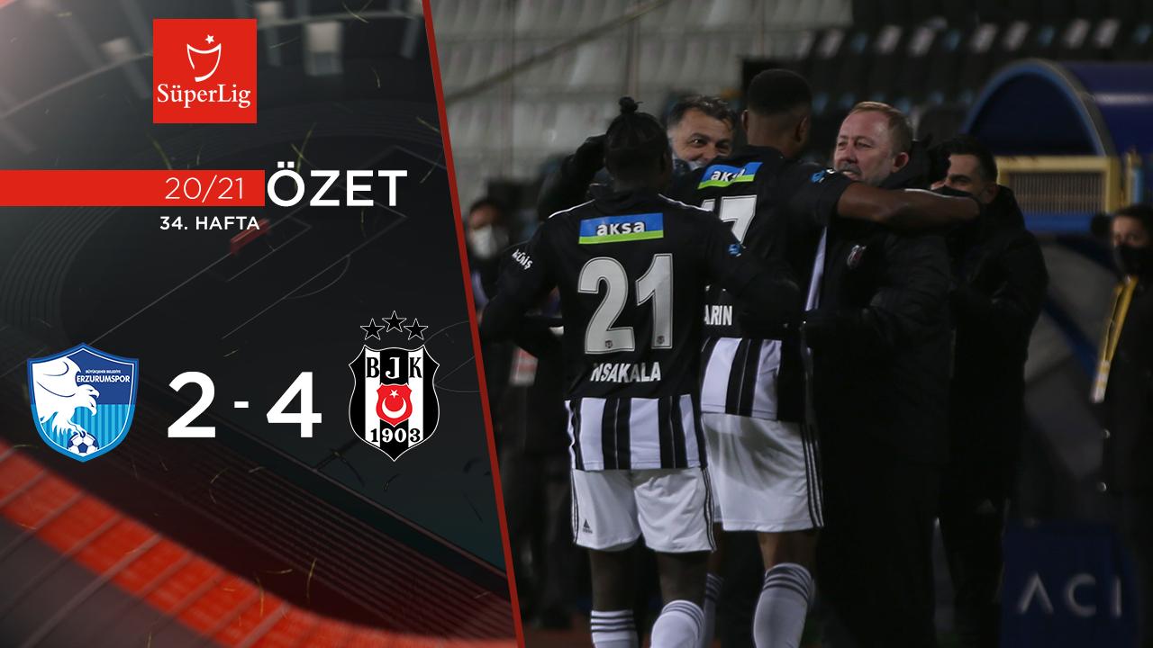BB Erzurumspor Beşiktaş maç özeti