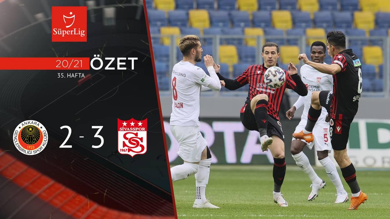 Gençlerbirliği Demir Grup Sivasspor maç özeti