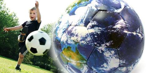 Dünya'yı futbol kurtaracak!