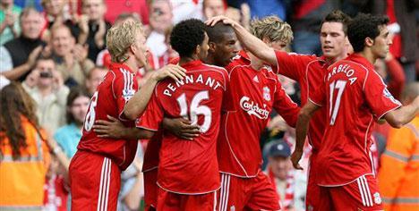 Liverpool'dan gözdağı!