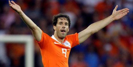 Van Nistelrooy Afrika'da yok