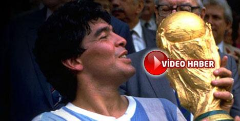 Maradona takımı saklıyor!