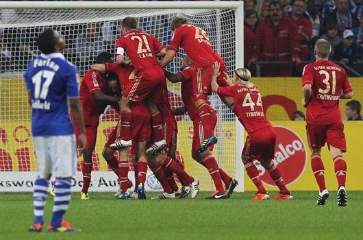 Bayern'in acıması yok!