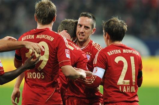 Bundesliga'nın en iyisi Ribery