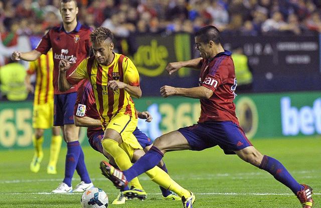 Barça'ya Osasuna şoku!