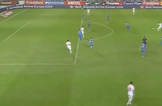 Yunanistan'a Ege açıklarından gol attı (!)