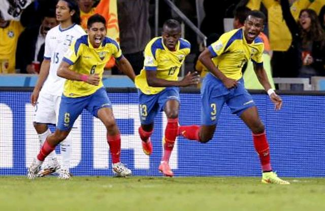 Ekvador Valencia'yla güldü!