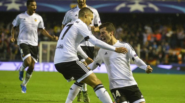 Gent attı Valencia kazandı!