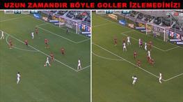 Aynı maçta 2 çılgın gol!
