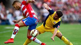 Atletico ve Granada birbirine çalıştı!