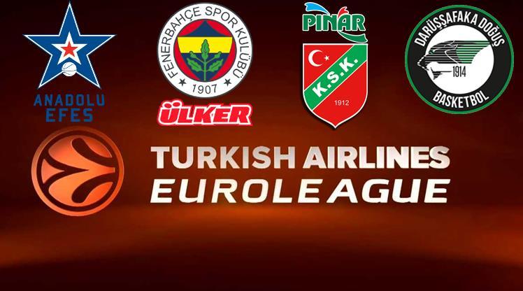 İşte Euroleague'deki rakiplerimiz!..