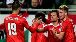 Gol düellosunda kazanan İsviçre!