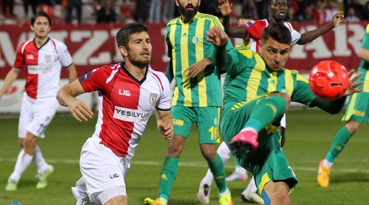 Samsunspor'da galibiyet sevinci