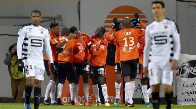 Lorient - Rennes: 2-1 (ÖZET)