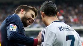 Ronaldo attı, Pique'nin tepkisi olay yarattı