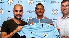 Manchester City'i Danilo'yu kaptı