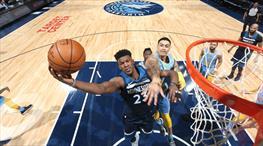 Timberwolves Lakers'a acımadı