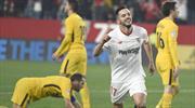 Atletico'ya müthiş gol yetmedi! Son gülen Sevilla... (ÖZET)