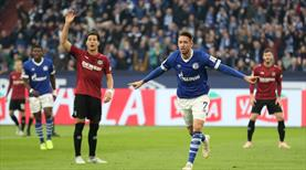 Schalke'ye Hannover morali!