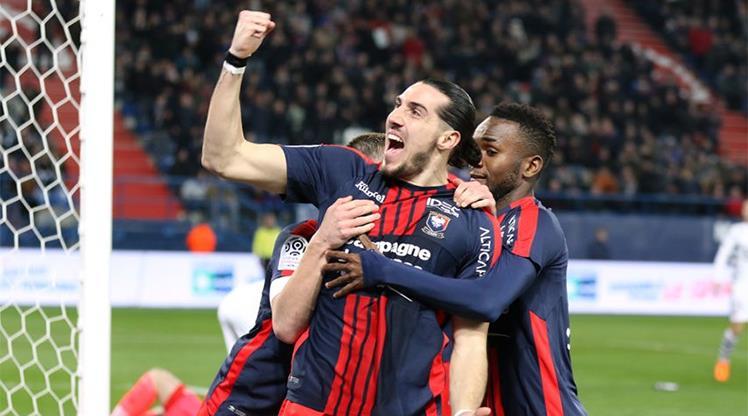 6 puanlık maç Caen'in