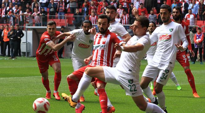 Hayati maçta Denizli'den müthiş dönüş (ÖZET)