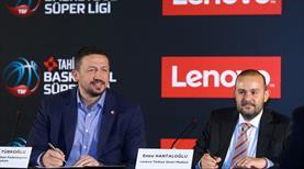 Tahincioğlu Basketbol Süper Ligi'nin ana sponsoru Lenovo