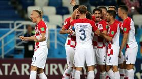 Süper Lig'in yıldızları sahne aldı, Vida'lı Hırvatlar kazandı