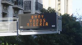 Nijerya'nın golünde Buenos Aires sokakları (GALERİ)