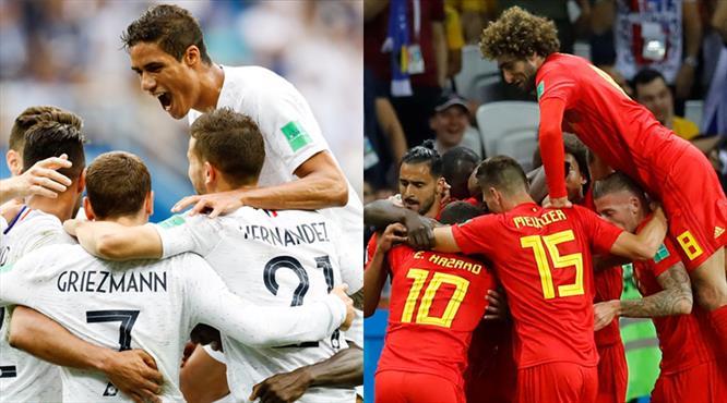 Rekabette üstünlük Belçika'da