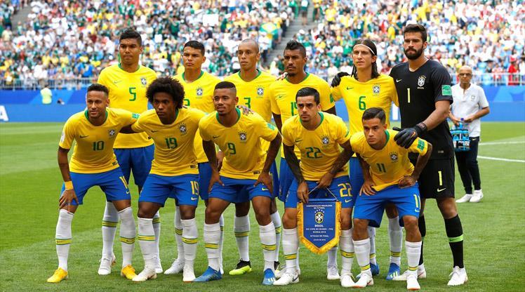 Dünya Kupası'nın lideri Brezilya