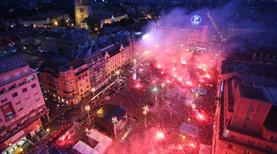 Hırvatistan yangın yeri