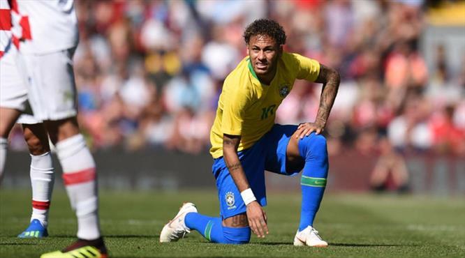 """Neymar'dan eleştirilere yanıt! """"Ben yere düşmedim"""""""