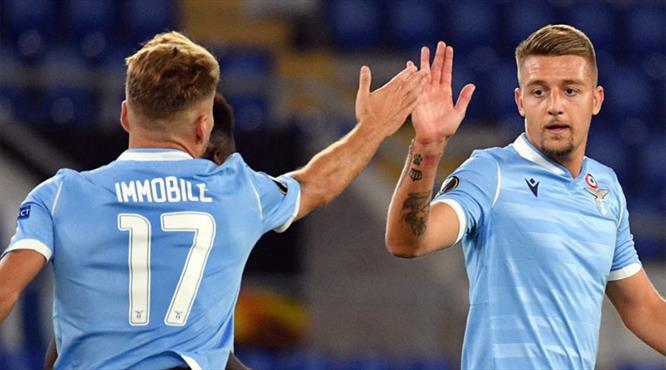 Lazio pes etmedi, geri döndü (ÖZET)