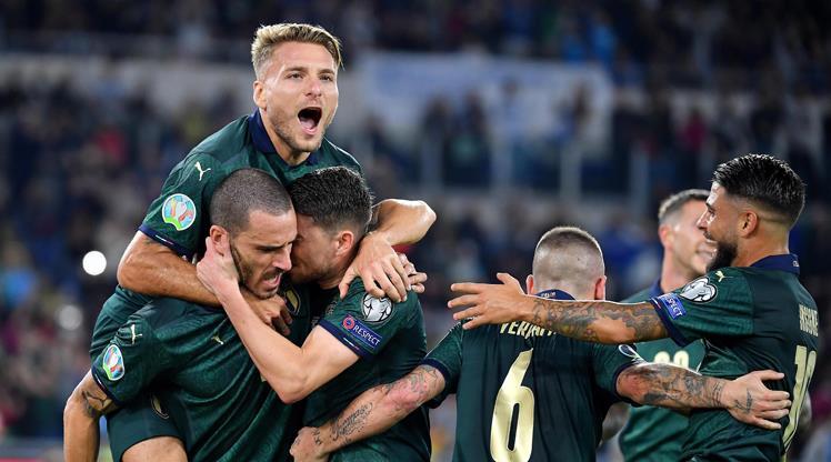 7'de 7 yapan İtalya EURO 2020'de
