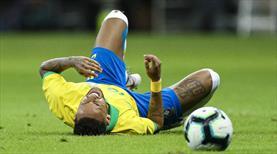Neymar 1 ay sahalardan uzak kalacak