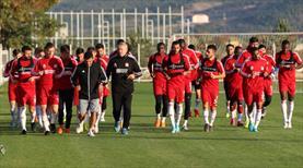 Sivasspor antrenmanında 3 eksik