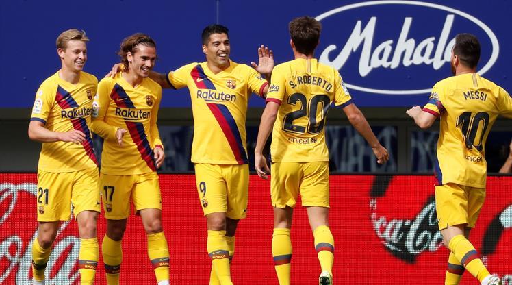 Barcelona yıldızlarıyla kazandı