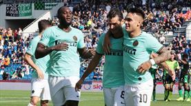7 gollü müthiş maç Inter'in (ÖZET)