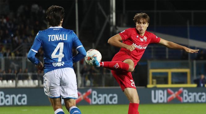 Fiorentina, Brescia'ya takıldı