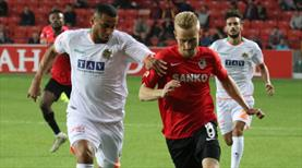 Gaziantep FK -  Aytemiz Alanyaspor: 1-1 (ÖZET)