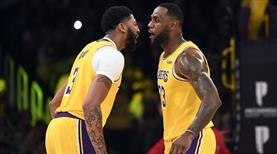 Lakers'ta yeni bir tarih yazıldı! 40 sayı, 20 ribaunt...